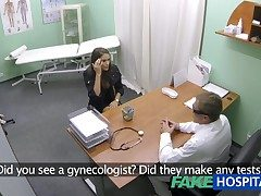 FakeHospital Hot girl with big tits gets doctors treatment before education she substructure purl
