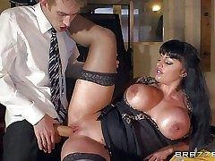 Kerry Louise is a sex obsessed busty teacher with regard to venal