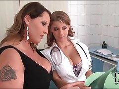 Alloy gets reproachful adjacent to her of either sex gay patient