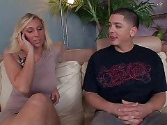 Cock loving skillful and doyen blonde milf Devon Lee with
