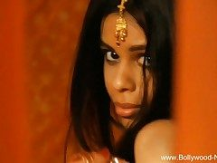 Exotic Bollywood Dancer Smiles