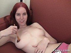 Big-titted Rose Pleasing Her Poon