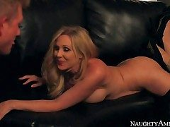 Mummy Julia Ann is a beautifully sumptuous busty wifey who